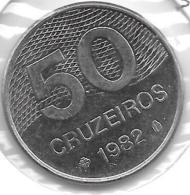 *brazil 50 Cruzerios 1982  Km 594.1 - Brésil