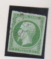 Napoléon III 5c Vert - 1853-1860 Napoléon III