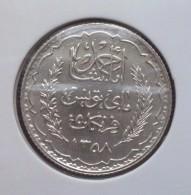 Tunesië 5 Francs 1939 Zilver, Franse Bezetting (Pr-, KM: 264) - Kolonies