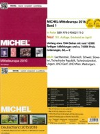 Mittel-Europa Band 1+ MlCHEL Deutschland 2016 Neu 120€ AD DR Berlin SBZ DDR BRD A CH FL HU CZ CSR SLOWAKEI UNO Genf Wien - Lexiques