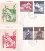 San Marino 1969 Lorenzetti FDC - FDC