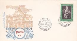 Vatican City 1963 Habemus Papam ,souvenir Cover - Vatican