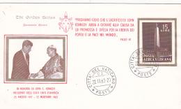 Vatican City 1963 In Memory Of John F.Kennedy ,souvenir Cover - Vatican