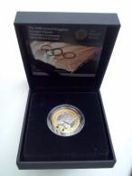 Groot Brittannië 2 £ 2008, Beijing-London Met Certificaat (Proof/zilver/goud KM: 1106a) - 1971-… : Decimale Munten
