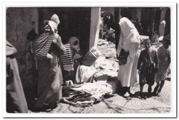 Tetuan, Vendedoras De Telas - Marokko