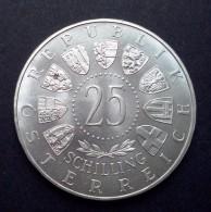 Oostenrijk 25 Schilling 1955  (UNC / Zilver, KM: 2880) - Oostenrijk