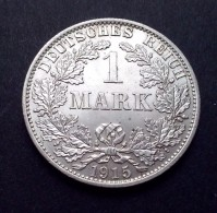 Duitsland 1 Mark 1915A, Empire (XF / PR,  KM: 14) - 1 Mark