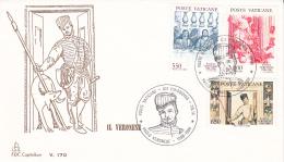 Vatican City 1988 Paolo Il Veronese FDC - FDC