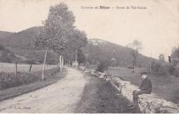 16 / 4 / 396  -     ENVIRONS  DE  DIJON  ( 21 )  - ROUTE  DE  VAL-SUZON - Dijon