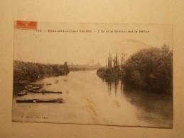 Carte Postale - BELLEVILLE SUR SAONE (69) - L´Ile Et Le Mottio Sur La Saône (98/60) - Belleville Sur Saone