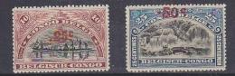 Belgisch Congo 1922 Opdruk Mechelen 2w  ** Mnh (29468) - Belgisch-Kongo