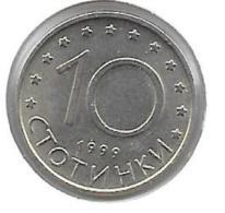 *Bulgaria 10 Stotinka 1999   Km 240   Unc - Bulgarie