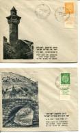 Israel - 1949 Ein Karem + Jaffa First Day Cover - Cartas