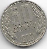 *Bulgaria 50 Stotinka 1962   Km 64    Xf+ - Bulgarie