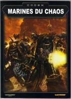 """WARHAMMER  CODEX """" MARINES DU CHAOS  """"  GAMES WORKSHOP TTBE - Warhammer"""