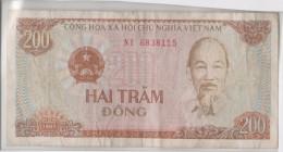 Viet-nam 200 Dong 1987 P100 Circulé - Viêt-Nam
