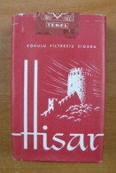 AC - HISAR - CASTLE # 1 TURKISH CIGARETTES CIGARETTE TOBACCO UNOPENED BOX FOR COLLECTION - Other