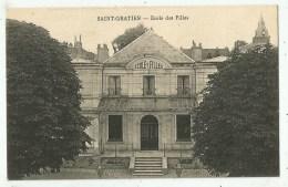 Saint-Gratien (95.Val D´Oise)   Ecole Des Filles - Saint Gratien