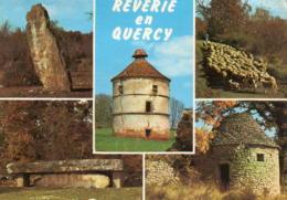 Reverie En Quercy - Menhir De Belinac - Dolmen De La Pierre Martine (environs De Livernon) - Livernon