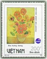 Vietnam Viet Nam MNH Perf Stamp 1993 : World Philatelic Exhibition / Art Paintings Of Van Gogh : Sunflower (Ms666) - Vietnam