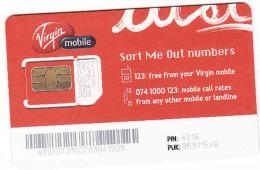 Afrique Du Sud,SOUTH AFRICA, GSM SIM Mint Virgin Mobile - Zuid-Afrika