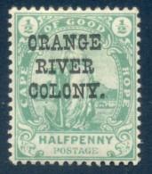 Orange Free State 1900. ½d Green. SACC 78*, SG 133*. - Sud Africa (...-1961)