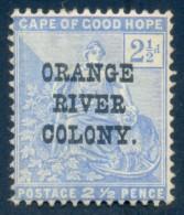 Orange Free State 1900. 2½d Ultramarine. SACC 80*, SG 135*. - Sud Africa (...-1961)