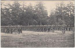 26722g  MILITAIRES EN UNIFORME - REGIMENT DES CARABINIERS - COMPAGNIE DE CYCLISTES - Bourg-Léopold - Leopoldsburg
