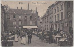 26743g  MARCHE - PLACE DES TANNEURS - Bruges - 1911 - Brugge