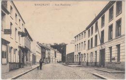 26785g  CAFE DE LA POSTE - HOTEL - RUE MADAME - Beaumont - Beaumont