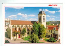 10937  CPM  ARCUEIL  : L'Eglise Saint Denis   ACHAT DIRECT !! - Arcueil