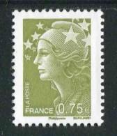 """Timbre** Gommé  De 2010 """"0,75 - Marianne De Beaujard"""" - 2008-13 Marianna Di Beaujard"""