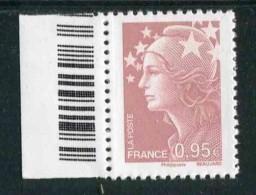 """Timbre** Gommé  De 2010 """"0,95 - Marianne De Beaujard"""" - 2008-13 Marianna Di Beaujard"""