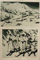 Les Chasseurs Alpins Italiens Dans Les Alpes - Page Original 1929 - Documents Historiques