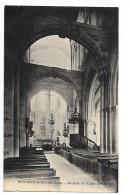 BEAUMONT LE ROGER  (cpa 27)  Intèrieur De L'église(XV° Siècle) - Beaumont-le-Roger