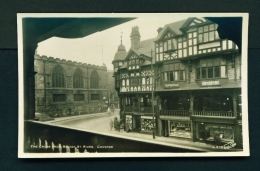 ENGLAND  -  Chester  The Cross From Bridge Street Rows  Unused Vintage Postcard - Chester