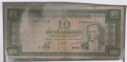 Turquie 10 Lira 1952 P156  Circulé - Turchia