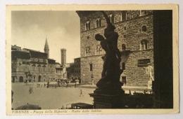 Firenze Piazza Della Signoria - Ratto Delle Sabine Viaggiata 1935 Fp. - Firenze