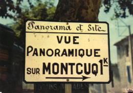 Panorama Et Site - Vur Panoramique Sur Montcuq - Montcuq