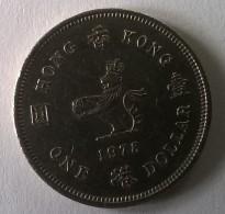 Hong Kong - 1 Dollar 1978 - Elizabeth II - - Hong Kong