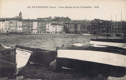 83 - Saint-Tropez (Var) - Les Quais De La Citadelle - Saint-Tropez