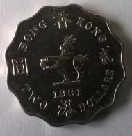 Hong Kong - 2 Dollars 1981 - Elizabeth II - - Hong Kong