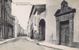83 - Saint-Tropez (Var) - Rue Gambetta - Saint-Tropez