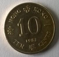Hong Kong - 10 Cents 1982 - Elizabeth II - - Hong Kong
