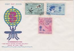 IRAN FDC MALARIA - Krankheiten