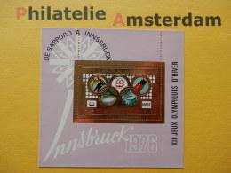 Comores 1976, OLYMPICS INNSBRUCK: Mi 274, Bl. 28, ** - Winter 1976: Innsbruck
