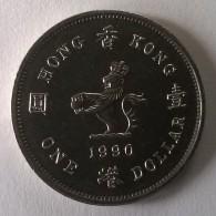 Hong Kong - 1 Dollar 1990 - Elizabeth II - - Hong Kong