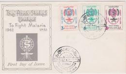 SAOUDI ARABIA FDC  INSECTES MALARIA - Sonstige