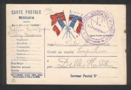25 - Besançon - Carte Postale Militaire - Cachet Hôpital Saint Jacques  Besançon - 21 Août 1915 - Marcophilie (Lettres)