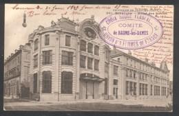 25 - Baume-les-Dames - Croix Rouge - Union Des Femmes De France - Comité De Baume Les Dames - Marcophilie (Lettres)